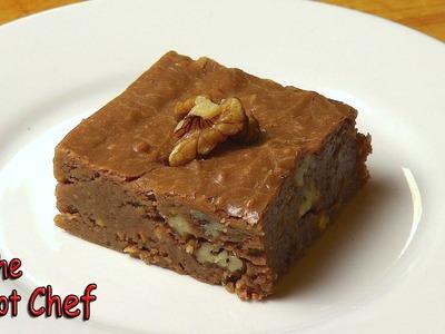 No Bake Chocolate Brownies - RECIPE