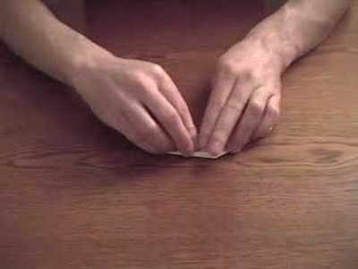 Origami Speed Boat How to
