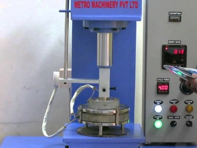 Paper Plate Machine (semi automatic ) in working condition