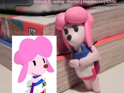 Polymer Clay Tutorial: Animal Crossing Chibi ( Harriet) ◕‿◕