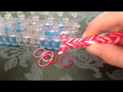 Rainbow loom brand new Dolphintail bracelet tutorial
