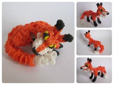 Rainbow Loom fox Part 2.2 Loombicious