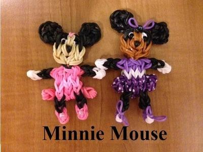 Rainbow Loom Minnie Mouse  Doll or Charm