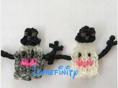 Rainbow Loom Mr Pepper and Mrs Salt