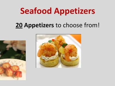 Top Party Appetizers | Find Appetizer Ideas For Your Party
