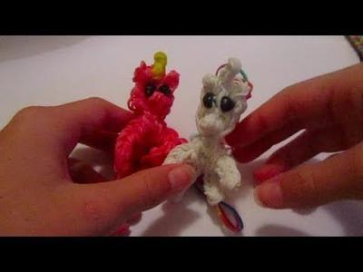 Unicorn\Pony charm   Rainbow Loom