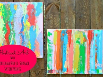 Abstract Art Canvas DecoArt