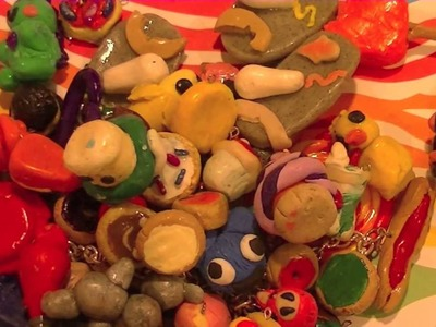 All of my polymer clay charms!! :)