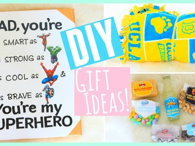 DIY Gift Ideas for Father's Day!! 2015