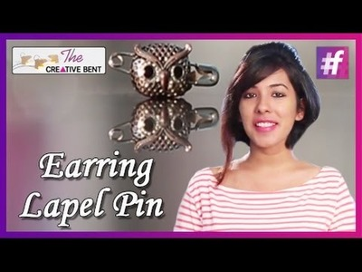 DIY: How to Make a Lapel Pin Out of an Earring