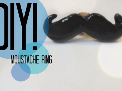 DIY| How To Make A Moustache Ring