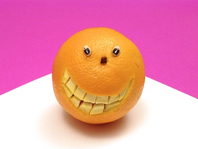 DIY: How to Make a Smiling Orange (HD)