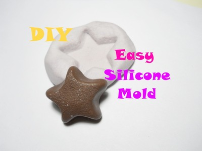 DIY Mold Putty (Flexible Mold) ✪ Stampino Ruba Forma ✧ Tutorial