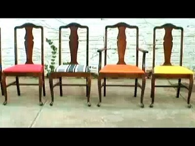DIY Re-Upholstery, Threadbanger