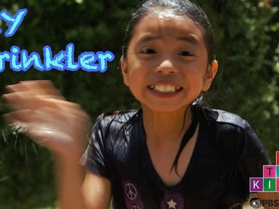 DIY Recycled Bottle Sprinkler | Full-Time Kid | PBS Parents