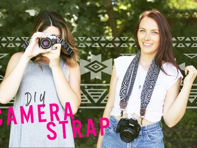 DIY UPCYCLE CAMERA STRAP | THE SORRY GIRLS