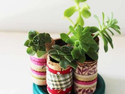 How To Create A Miniature Succulent Garden - DIY Home Tutorial - Guidecentral
