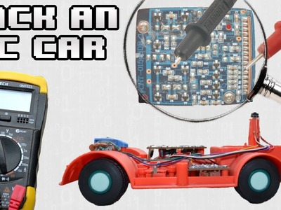 How to - Hack An RC Car w. Arduino
