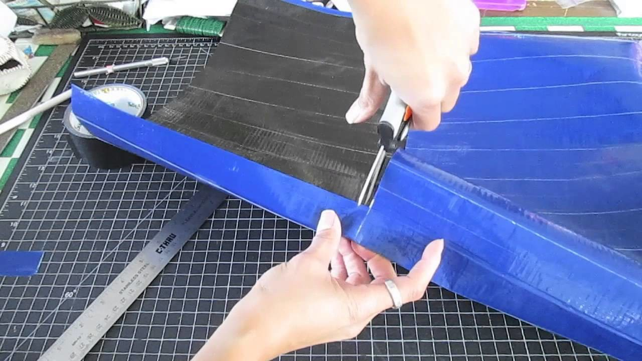 How To Make A Duct Tape Messenger Bag
