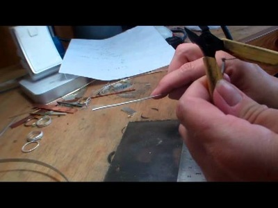 How to make Jewelry - Measuring and Cutting to make a Ring