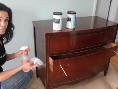 How to Paint a Dresser Using RECLAIM Beyond Paint - Thrift Diving