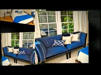 Interior Design Beautiful Blue Bedroom
