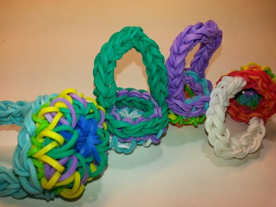 Kaleidoscope Basket Tutorial by feelinspiffy (Rainbow Loom)