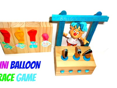 Miniature Balloon Carnival Game - DIY LPS Crafts & Doll Stuff
