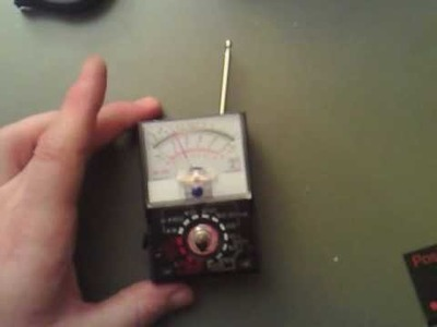 Negative ION Detector (How to Make) 003