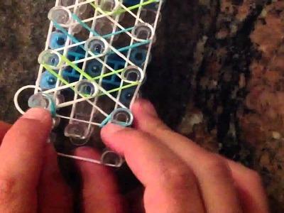 *NEW* How to make an Arrow Rainbow Loom bracelet!