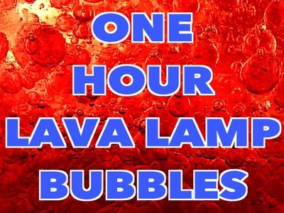 One Hour of DIY Lava Lamp Bubbles