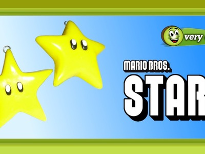 Polymer Clay Fimo - Mario Bros Star - *very easy Tutorial*