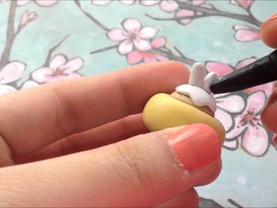 Polymer Clay Molang Cupcake Tutorial