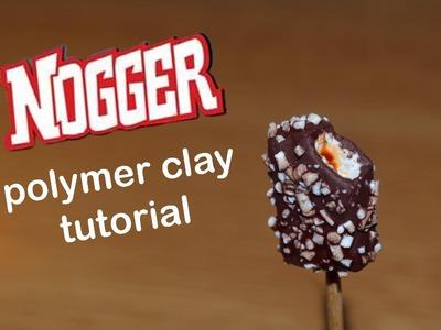 Polymer clay tutorial Algida Nogger Ice cream Popsicle