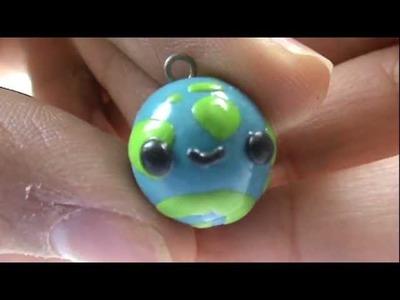 ✿ Polymer Clay Tutorial - World.Globe Charm (Request) ✿
