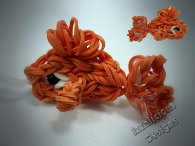 Rainbow Loom Goldfish Charm Tutorial