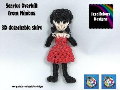 Rainbow Loom Scarlet Overkill | Minions | Action Figure Doll Charm