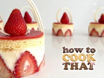 STRAWBERRY FRAISIER DESSERT RECIPE How To Cook That Ann Reardon