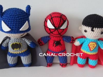 Super heroes amigurumi tutorial