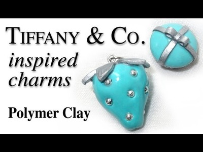 Tiffany & Co. Inspired Polymer Clay Charms