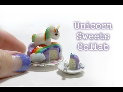 Tutorial: Unicorn Sweets Collab ft. LoveXO - Polymer Clay