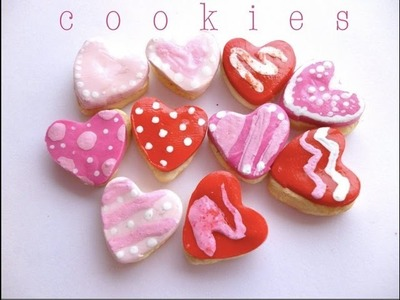 VALENTINE'S DAY COOKIES - Polymer Clay Tutorial