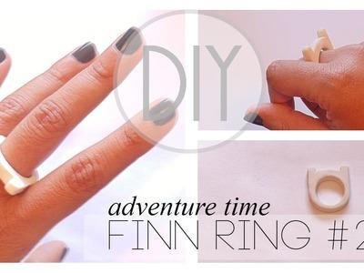 Adventure Time Finn Ring Tutorial #2 [Polymer Clay]