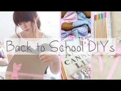 Brighten Up Going Back To School DIYs
