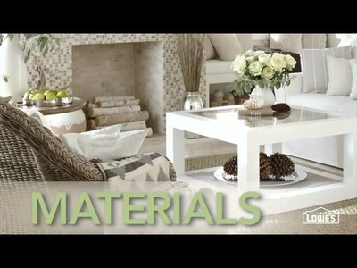 Bring the outdoors, indoors through decor  - Lowe's Creative Ideas
