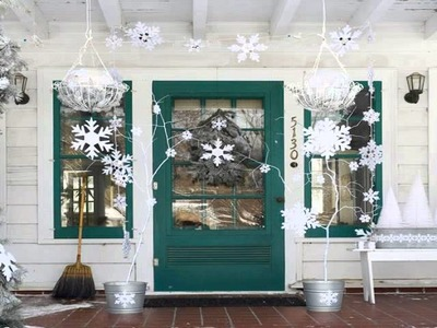 Christmas decoration ideas for windows