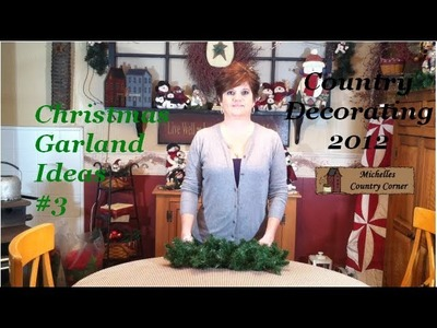 Christmas Garland Ideas 3 - Christmas Decorating 2012