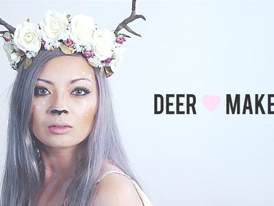 Deer. Fawn Makeup Tutorial!
