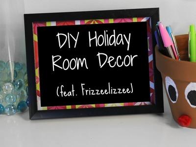 DIY Holiday Room Decor (feat.  Frizzeelizzee) | #CreativityChristmas
