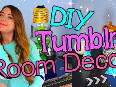 DIY Tumblr Inspired Room Decor!! Make Your Room Look Tumblr! Cute & Cheap!!